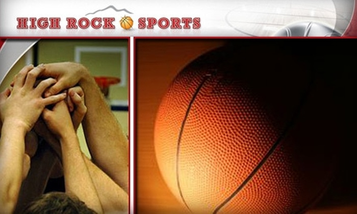 High Rock Sports - Multiple Locations: $12 Standard Registration for a Two-Day Basketball Clinic at High Rock Sports ($25 Value)