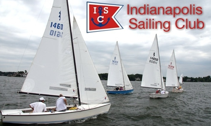 Indianapolis Sailing Club - Fall Creek: $39 for Three-Hour Introductory Sailing Lesson at Indianapolis Sailing Club ($100 Value)