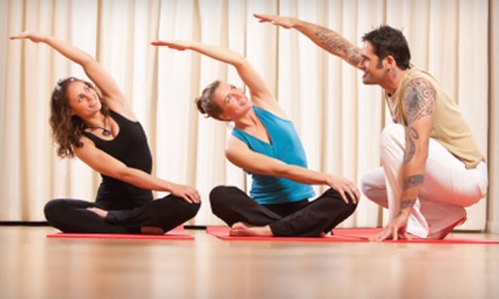 Lynne Carroll's Yoga Studio - Dent: $25 for One Month of Unlimited Classes at Lynne Carroll's Yoga Studio ($60 Value)