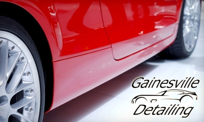Gainesville Detailing - Gainesville: $60 for Full Interior and Exterior Auto Detail at Gainesville Detailing (Up to $160 Value)