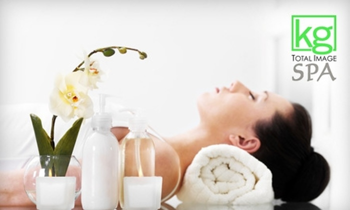 Kenneth George Total Image Spa and Salon Nesou - Wilshire Montana: $79 for a Massage, Facial, and Hair Package at Kenneth George Total Image Spa and Salon Nesou in Santa Monica ($210 Value)