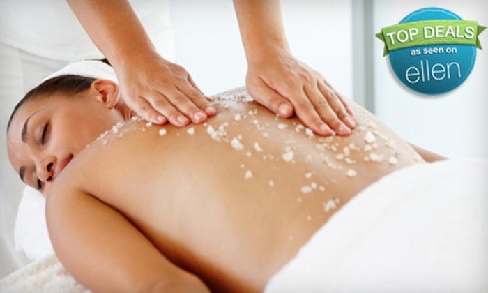 Massage Alaska - Anchorage: Arctic Salt Scrub or a Spa Package with an Arctic Salt Scrub and Detox Body Wrap at Massage Alaska in Wasilla (Half Off)