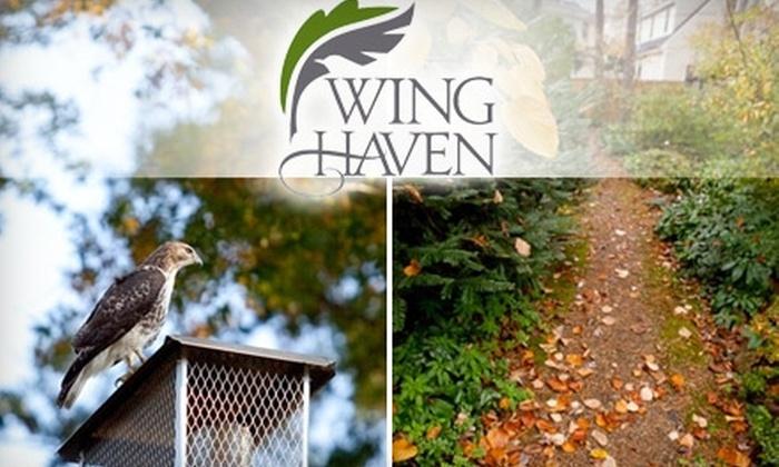 Wing Haven Gardens & Bird Sanctuary - Myers Park: $6 for Two Adult Tickets to Wing Haven Gardens & Bird Sanctuary ($12 Value)