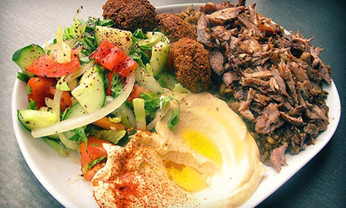 Jerusalem Pita - Coolidge Corner: $15 for $30 Worth of Kosher Middle Eastern Fare at Jerusalem Pita in Brookline