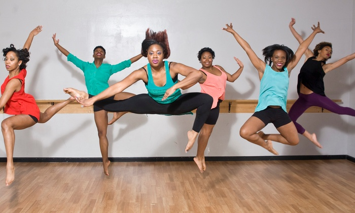 Big Red Wall Dance Company - Downtown: Five Private Dance Classes from Big Red Wall Dance Company  (67% Off)