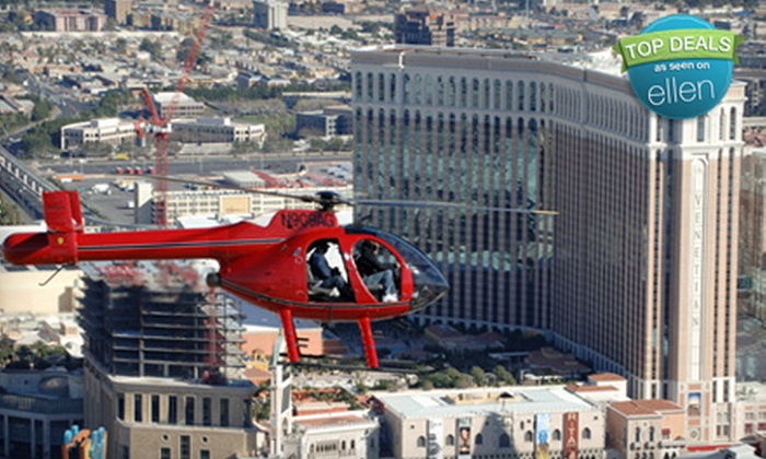 Adventure Helicopter Tours - North Las Vegas: $99 for an Extreme Vegas Strip Helicopter Tour from Adventure Helicopter Tours ($190 Value)