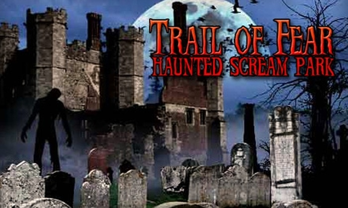 Trail of Fear Scream Park - Southeast Comanche: $25 for Two Tickets with Fast Pass Upgrades to the Trail of Fear Scream Park ($70 Value)