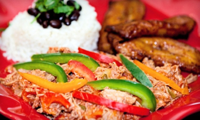 Latin Chicks - Avalon/Oglethorpe Mall Area: Two or Four Value Meals or Salads at Latin Chicks (52% Off)