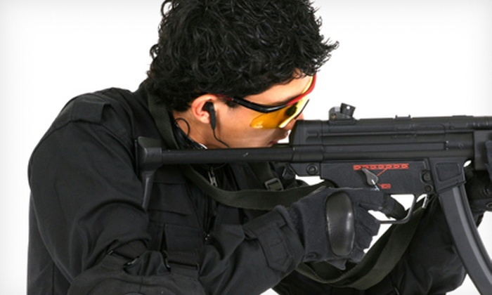 Vanguard Indoor Playground - Val Vista Lakes: Indoor Airsoft Game, Equipment, and BBs for One, Two, or Four at Vanguard Indoor Playground in Gilbert (Up to 57% Off)