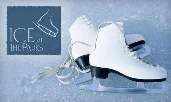 Ice at The Parks - Fort Worth: $5 for Admission, Skate Rental, and Carousel Ride at Ice at the Parks ($12 Value) or $4 for Child Admission, Skate Rental, and Carousel Ride ($11 Value)