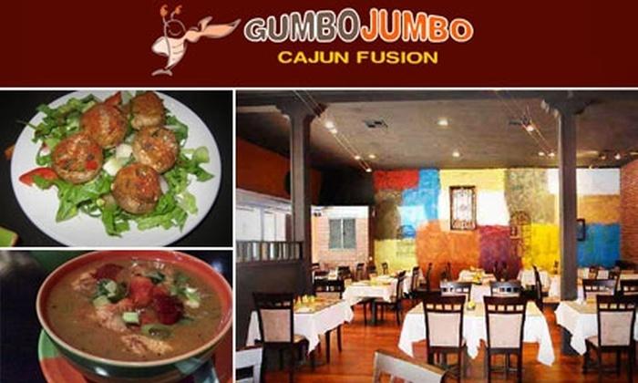 Gumbo Jumbo - Downtown San Jose: $20 for $40 Worth of Cajun Fusion Cuisine at Gumbo Jumbo