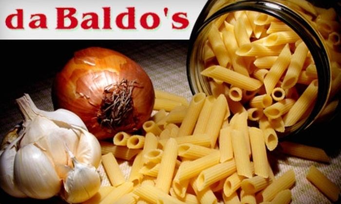 Baldo's Trattoria - Lindenwood Park: $10 for $25 Worth of Savory Italian Cuisine and Drinks at Baldo's Trattoria