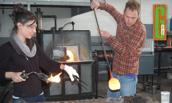 Glass Academy - West Downtown Dearborn: $40 for a Glass-Art Class at the Glass Academy in Dearborn ($85 Value). Choose from 21 Class Options.
