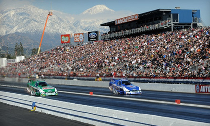Auto Club NHRA Finals - Bonita: Two or Four Tickets to the Automobile Club of California NHRA Finals in Pomona on November 13 (Up to 59% Off)