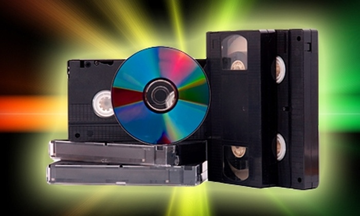 Geeko Systems - Downtown: $20 for Three VHS to DVD Conversions at Geeko Systems ($45 Value)