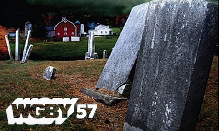 "WGBY - Springfield, MA: $10 for ""Tales of Haunted New England"" DVD from WGBY ($20 Value)"