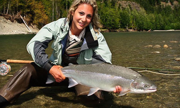 Fly Gal Ventures - Vancouver: Fly-Casting Workshop or Half- or Full-Day Guided Fly-Fishing Trip from Fly Gal Ventures in Chilliwack (Up to 52% Off)