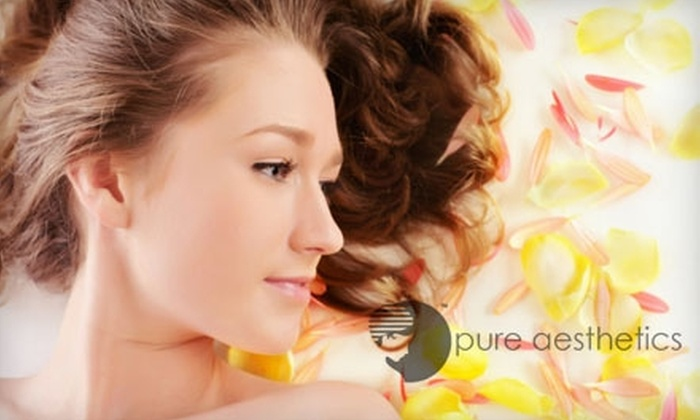 Pure Aesthetics - Tucson: $49 for $100 Worth of Spa Services at Pure Aesthetics