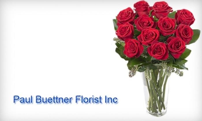 Paul Buettner Florist - East Hartford: $25 for $50 Worth of Flowers from Paul Buettner Florist in East Hartford