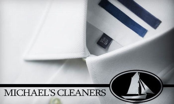 Michael's Cleaners - Norwalk: $15 for $30 Worth of Dry Cleaning at Michael's Cleaners