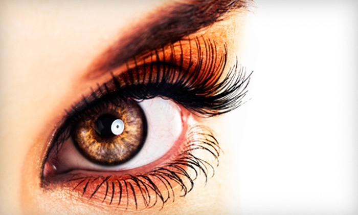 Eyecandy - Pine Point: Partial Lash Extensions or One or Three Brazilian Waxes at Eyecandy in Kennebunk (Up to 59% Off)