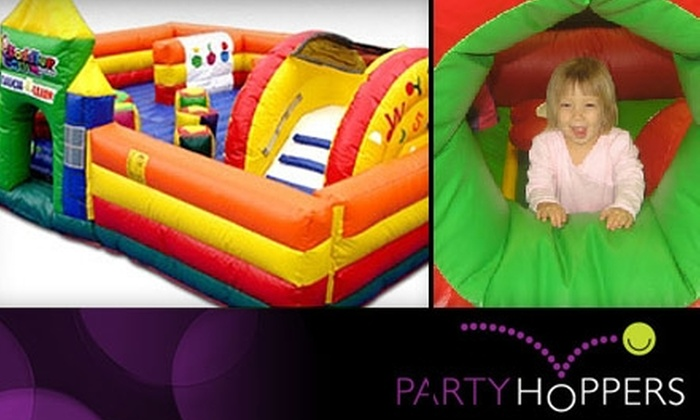 Party Hoppers - Delhi: $10 for Five Open Play Sessions at Party Hoppers (Up to $30 Value). Choose From Two Locations.