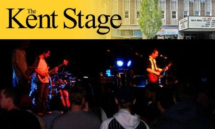 The Kent Stage - Kent: Tickets for Select Concerts at The Kent Stage. Six Shows Available.