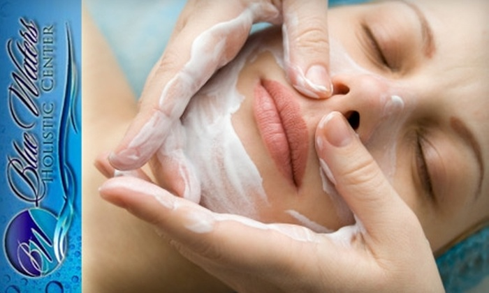 Blue Waters Holistic Center - Twin Acres: $35 for a Massage or Facial at Blue Waters Holistic Center (Up to $80 Value)