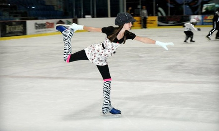 Nytex Sports Centre - North Richland Hills: Ice-Skating Packages at Nytex Sports Centre in North Richland Hills (Half Off). Five Options Available.