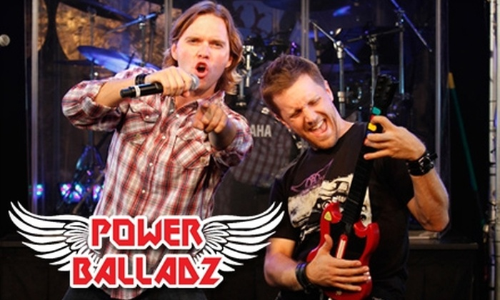 """Power Balladz"" - Theater District - Times Square: $30 for One Ticket to ""Power Balladz"" ($75.98 Value)"