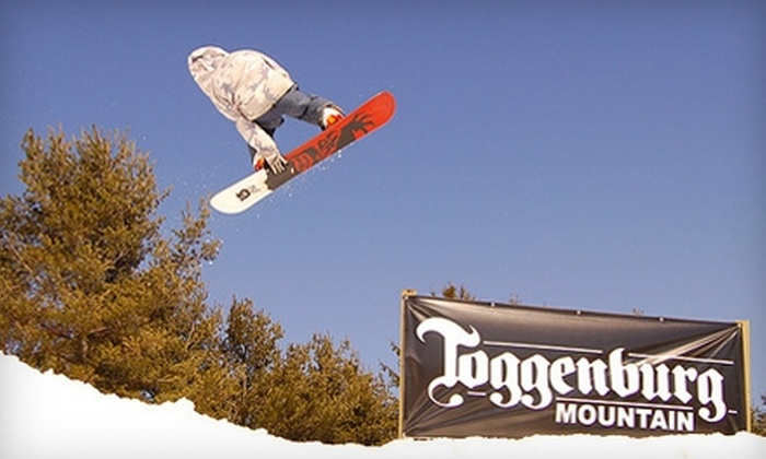 Toggenburg Mountain Winter Sports Center - Fabius: $20 for an All-Day Lift Ticket at Toggenburg Mountain Winter Sports Center in Fabius ($45 Value)