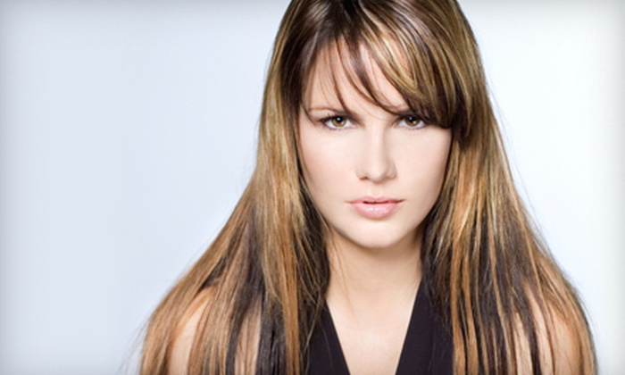 Nikko Hair Studio - Sherman Oaks: Haircut, Conditioning Treatment, and Style with Optional Partial Highlights at Nikko Hair Studio