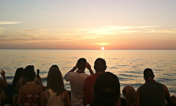 The Tropics Boat Tours - Clearwater: Sunset Celebration Cruise for Two Adults from The Tropics Boat Tours (50% Off)