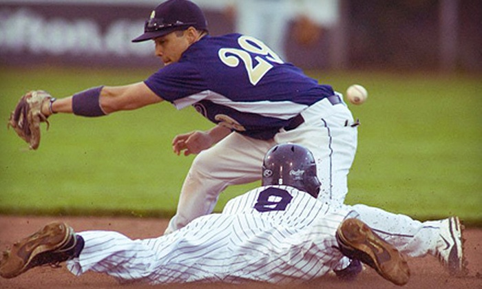 London Majors - West London: London Majors Game with Hot Dogs and Drinks for Two or Four at Labatt Memorial Park on July 15 (Up to 59% Off)