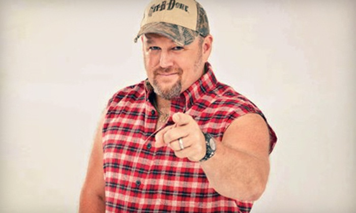 Larry The Cable Guy - Paramount Theatre - Aurora: Larry The Cable Guy at The Paramount Theatre on Saturday, October 19 at 5 p.m. or 9 p.m. (Up to 51% Off)