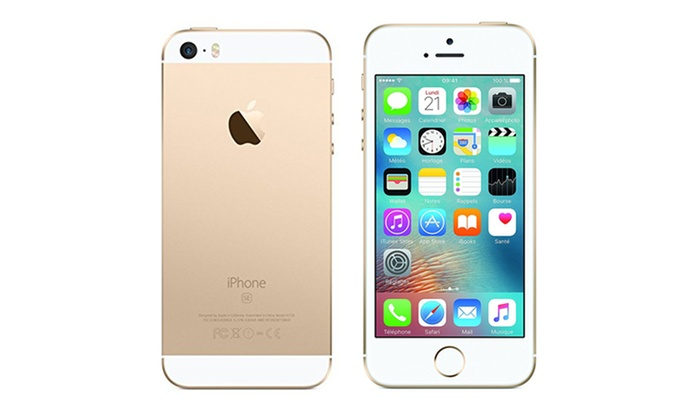 apple iphone se 16 go reconditionn groupon. Black Bedroom Furniture Sets. Home Design Ideas