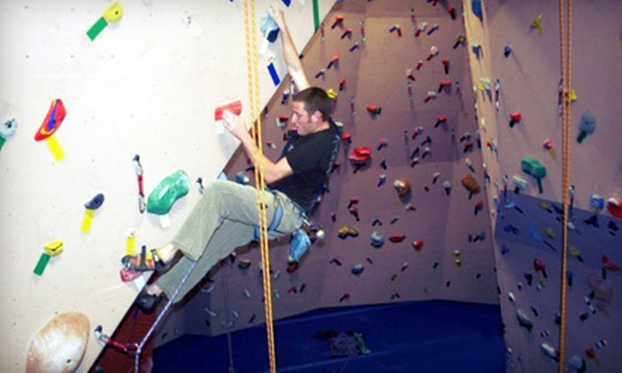 Rockzilla - Central Napa: $20 for Rock Climbing for Two at Rockzilla (Up to $40 Value)