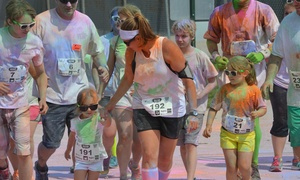 Kolors 4 Kids: Entry for One or Two to Kolors 4 Kids 5K Fun Run on Saturday, July 18 (Up to 51% Off)