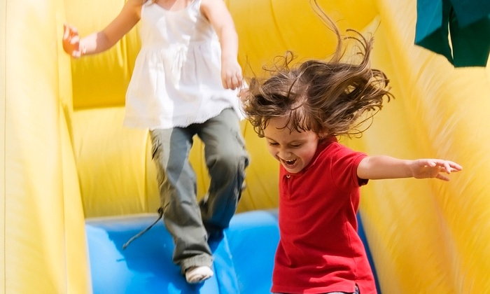 Bounce House - Carrollwood: Two-Hour Bounce Session for Two or Four Kids at Bounce House (Up to 60% Off)