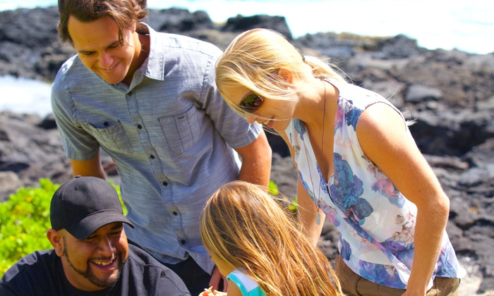DONE Hawaii - Kalihi - Palama: Private North Shore, Waterfall Hike, or Circle Island Local Tour for 2, 4, or 6 from Done Hawaii (Up to 57% Off)