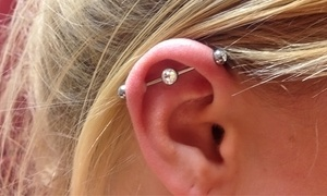 Body Art Salon: Body Piercings at Body Art Salon (Up to 36% Off). Four Options Available.