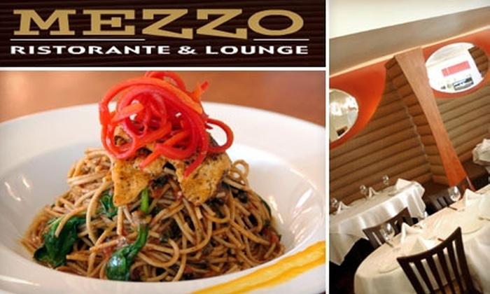 Mezzo Ristorante & Lounge - Walkerville: $25 for $50 Worth of Italian Cuisine and Drinks at Mezzo Ristorante & Lounge