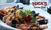 Nick's Tuscan Grill - Long Beach: $25 for $50 Worth of Elegant Fare at Nick's Tuscan Grill