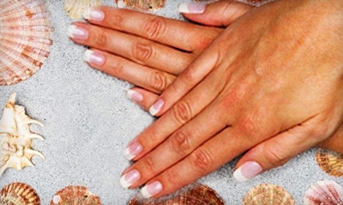 Beach Hut – Nails With A Tropical Twist! - Lakeview: $30 for a Spa Mani-Pedi at Beach Hut – Nails With A Tropical Twist! in Pewaukee