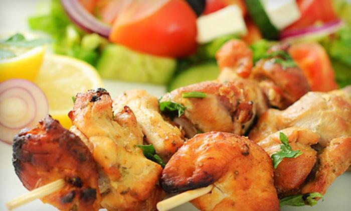Destan Restaurant - Richardson: Mediterranean Dinner for Two or $10 Worth of Lunch at Destan Restaurant in Richardson