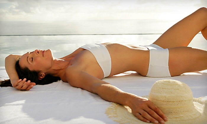Express Airbrush Tanning - Tallahassee: $22 for an In-Home Elite Custom Tan from Express Airbrush Tanning ($46 Value)