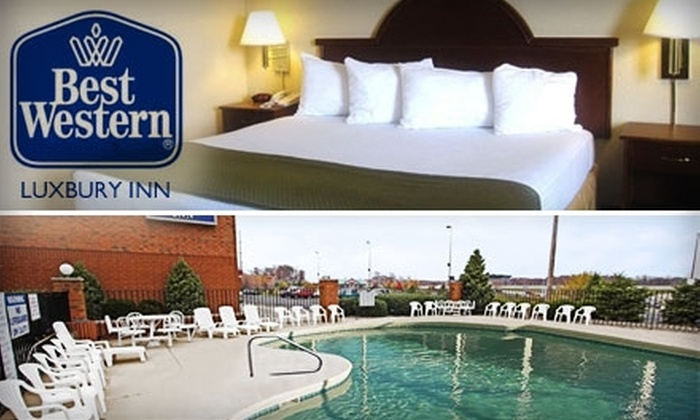 Best Western Luxbury Inn - Fort Wayne: $50 for a One-Night Stay in a Standard Room at Best Western Luxbury Inn ($102.59 Value)