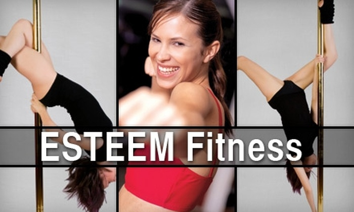 ESTEEM Fitness - Northeast Virginia Beach: $39 for Any 10 Pole Fitness or Other Classes at ESTEEM Fitness