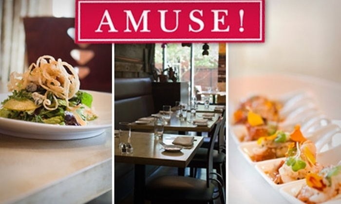 Amuse! - Morningside - Lenox Park: $15 for $35 Worth of French Cuisine and Drinks at Amuse!