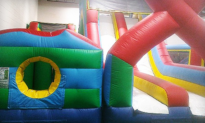 Jumpin' Joey's - Springfield: $10 for $25 Worth of Open-Bounce Playtime at Jumpin' Joey's